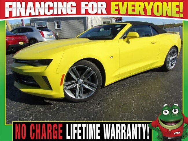 Used 2017 Chevrolet Camaro 1LT - Touchscreen Display - Rear Camera Convertible St. Louis, MO