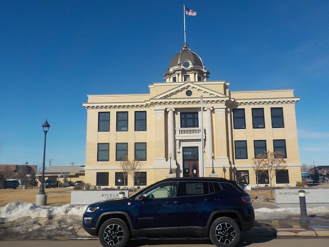 New 2019 Jeep Compass TRAILHAWK 4X4 Sport Utility in Sidney, MT