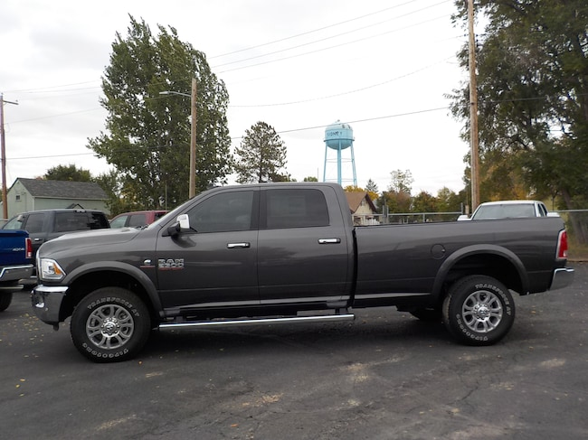 New 2018 Ram 2500 LARAMIE CREW CAB 4X4 8' BOX Crew Cab in Sidney, MT