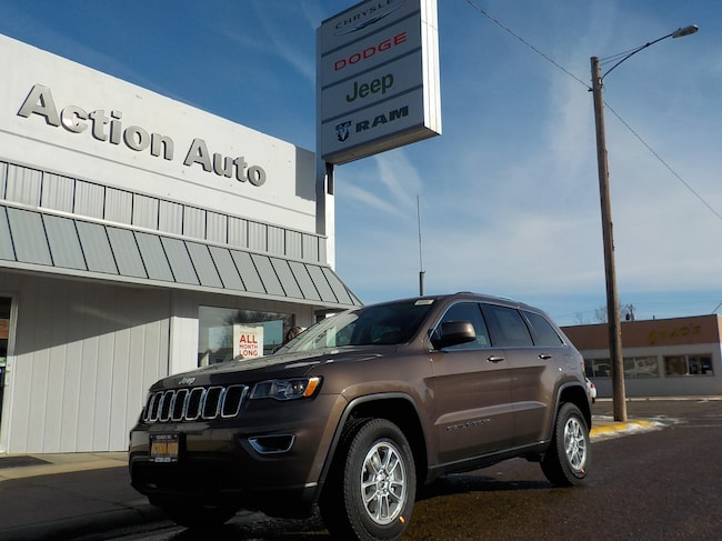 New 2019 Jeep Grand Cherokee LAREDO E 4X4 Sport Utility in Sidney, MT