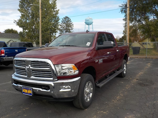 New 2018 Ram 2500 BIG HORN CREW CAB 4X4 6'4 BOX Crew Cab in Sidney, MT