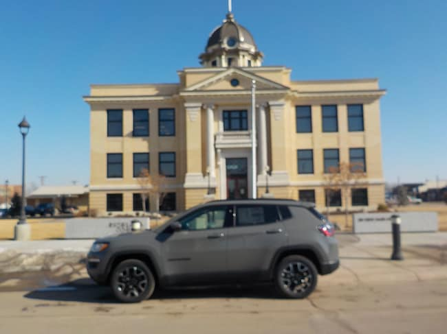 New 2019 Jeep Compass UPLAND 4X4 Sport Utility in Sidney, MT