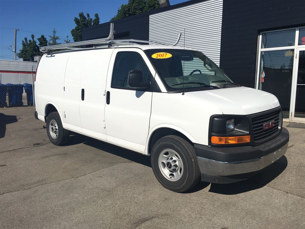 2017 GMC Savana shelving included! Cargo