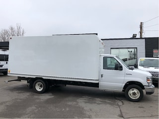 2017 Ford E-350 16ft cube with ramp. fin or lease from 5.99%oac Cube