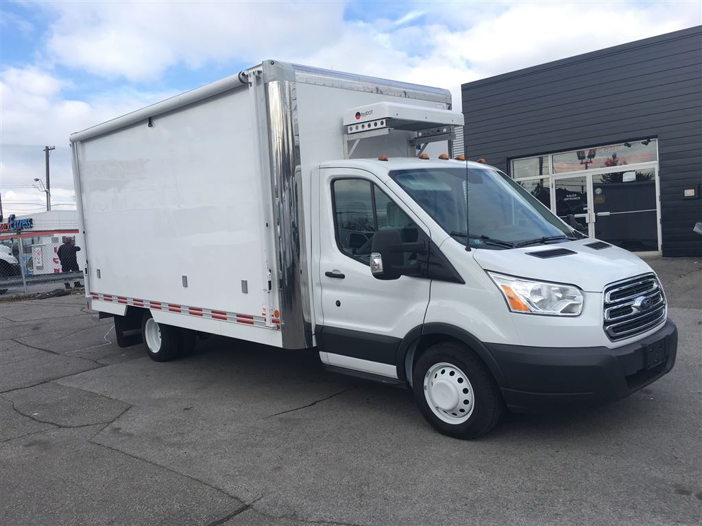 2016 Ford Transit T350HD 16' SHOP on Wheels  Heated and Cooled Cargo