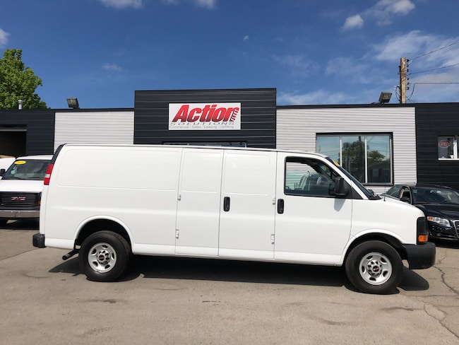 2014 GMC Savana 2500 extended cargo. shelving available. fin or lease! Cargo Extended