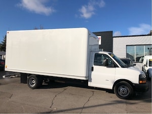 2018 GMC Savana G3500 16'CUBE 16' cube fin or lease from 5.99%oac Cube