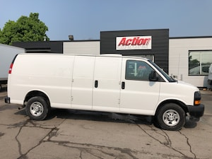 2018 Chevrolet Express 2500 ext cargo with backup camera