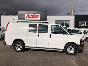 2017 Chevrolet Express GMC, Shelving and ladder rack included!!