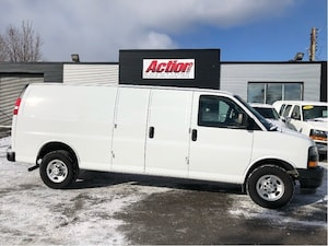 2018 Chevrolet Express 2500 extended cargo. finance or lease from 5.99%oac
