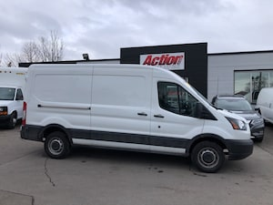 2018 Ford Transit MID ROOF 148. NO WINDOWS!
