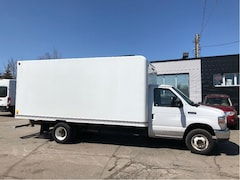 2016 FORD E-350 16 ft cube with ramp