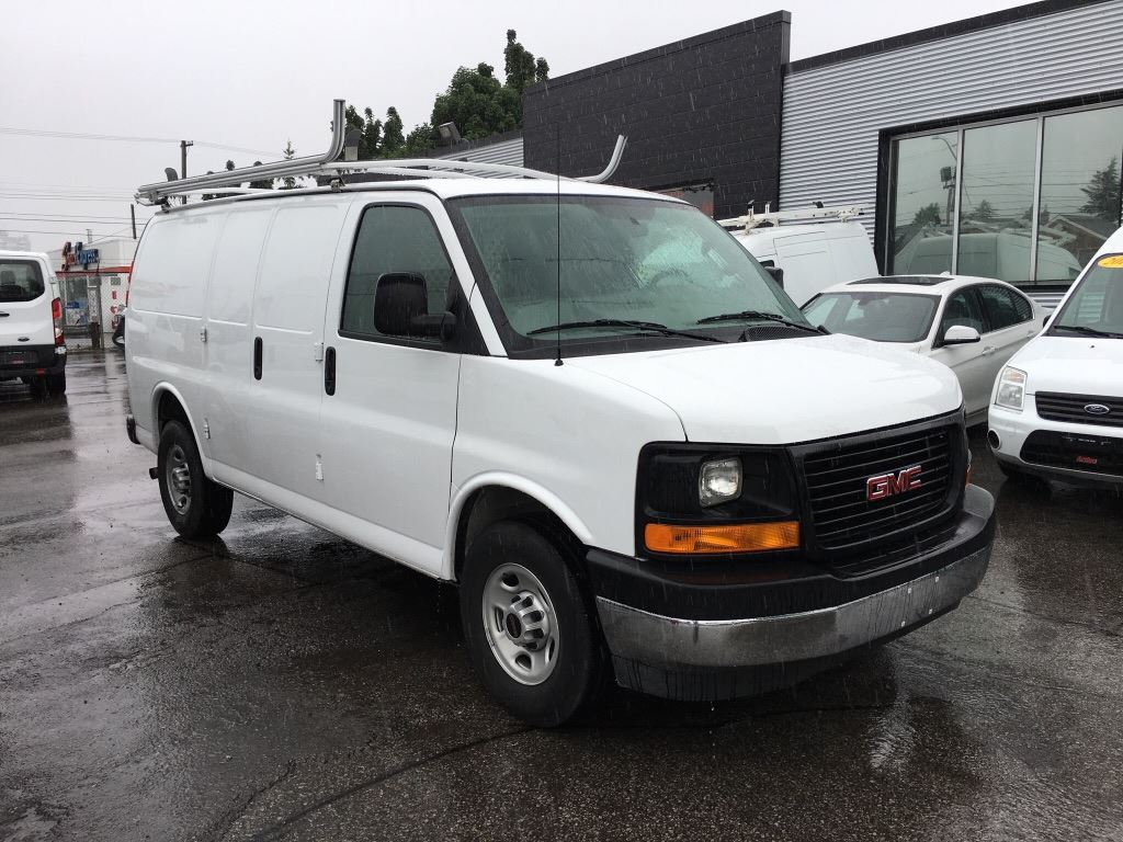 2017 GMC Savana $30,995 with Shelving and Ladder Rack! Cargo