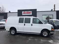 2017 GMC Savana 2500 low kms. fin or leasing available OAC Cargo
