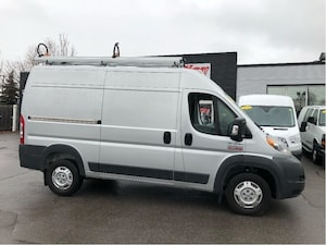 2017 Ram Promaster 2500HR136 shelving, ladderrack INCLUDED