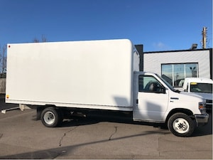 2018 Ford E-450 16ft CUBE fin or lease from 5.99%oac