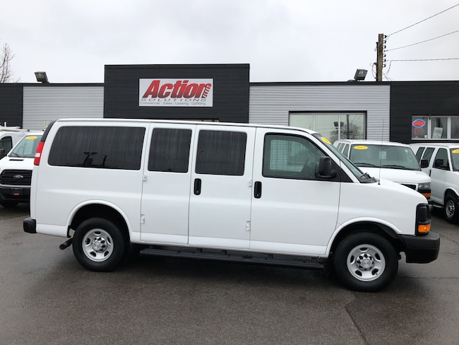 2016 Chevrolet Express 3500 12 passenger cargo. fin or lease from 5.99%oac Cargo