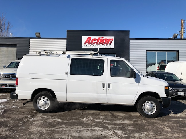 2013 Ford E-150 Shelving and ladder rack included Cargo