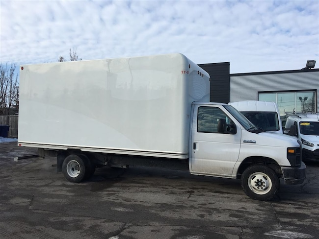 2017 Ford E-450 16ft cube with ramp. fin or lease from 4.99%oac Cube