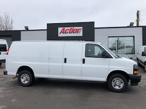 2018 Chevrolet Express 2500 EXt cargo with backup camera.  lease from 5.99%oac