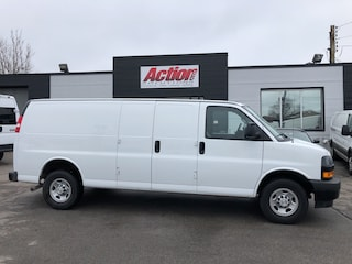 2018 Chevrolet Express 2500 EXt cargo with backup camera.  lease from 5.99%oac Cargo Extended