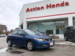 2014 Honda Civic LX  WINTER TIRES INCLUDED  