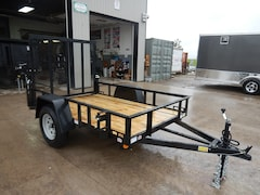 2018 Quality Steel 628 AN SA 2018 QUALITY STEEL 5X8 STEEL UTILITY TRAILER!