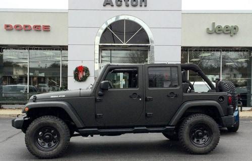 Jeep Matte Black >> The Regulator Package Acton Chrysler Dodge Jeep Ram