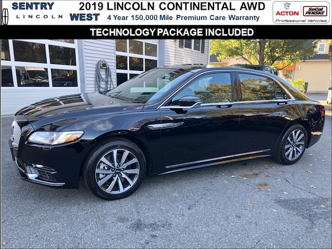 2019 Lincoln Continental AWD Livery Sedan