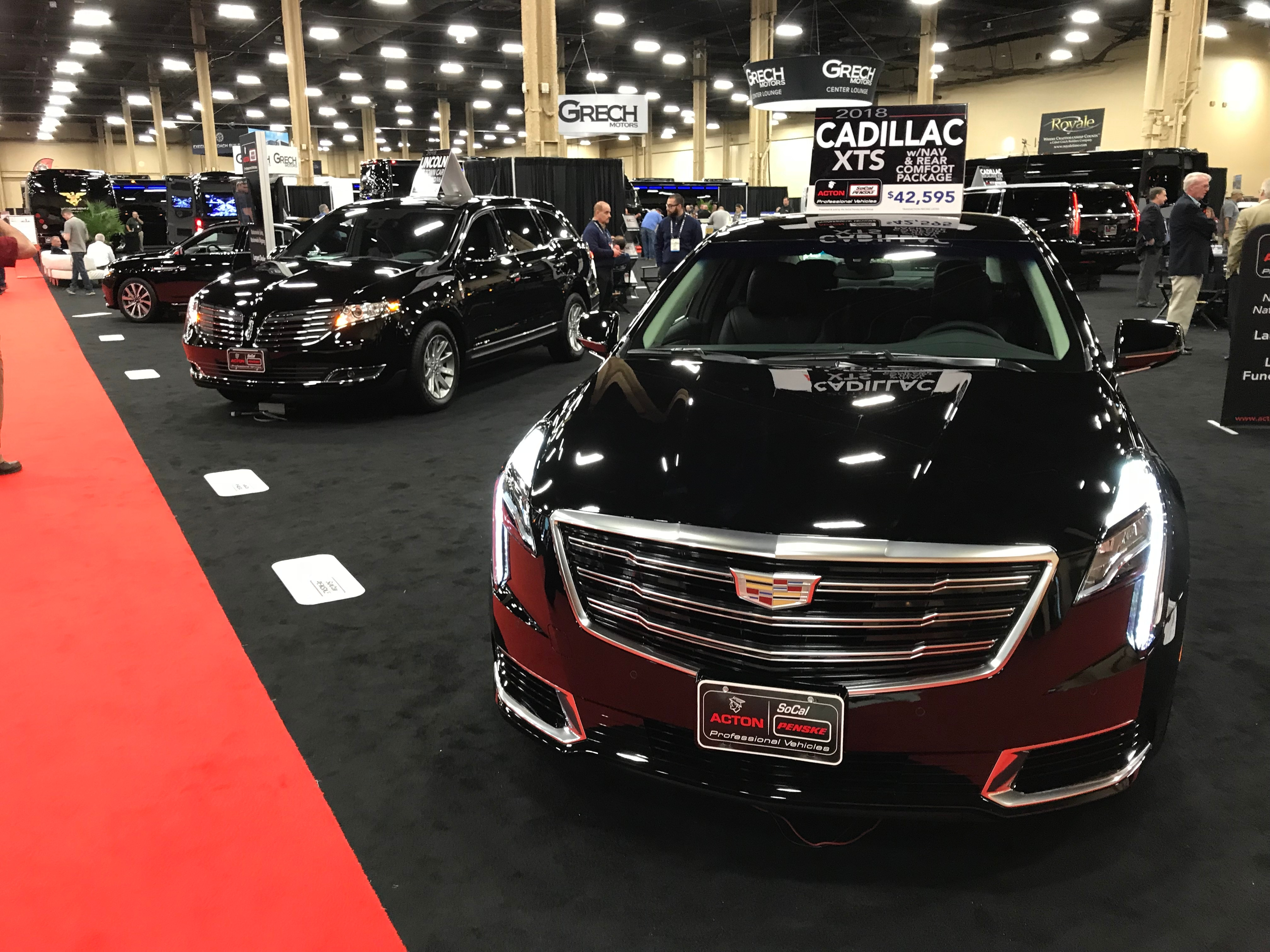 ActonSoCal Penske Professional Vehicles New CADILLAC Chevrolet - Boston car show 2018