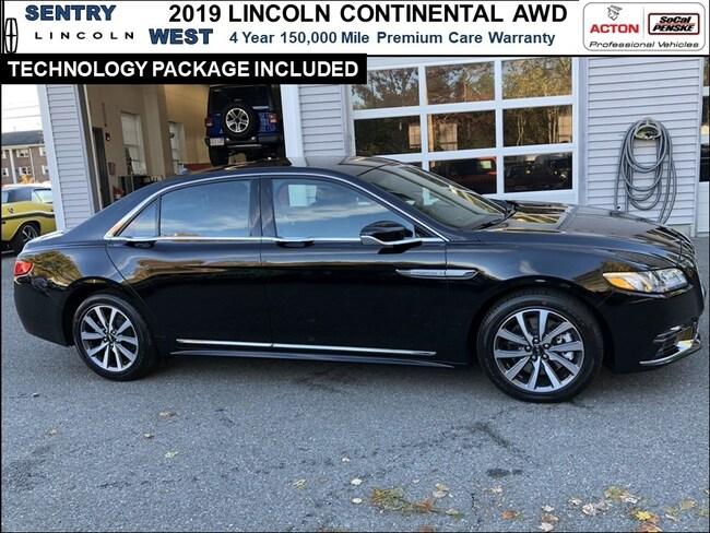 2019 Lincoln Continental AWD Livery Sedan
