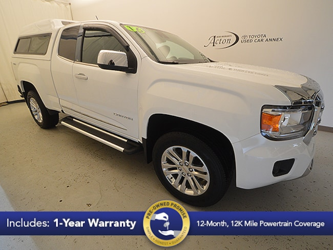 2016 GMC Canyon SLT Truck Extended Cab