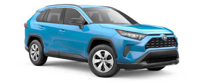 Toyota Rav4 Vehicle Cut-Out