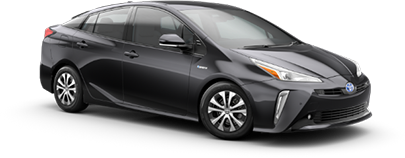 2020 Toyota Prius LE AWD-e Model Cut-Out