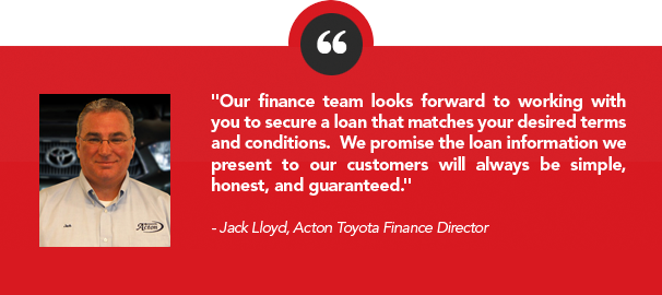 Review by Jack Lloyd, Finance Director at Acton Toyota