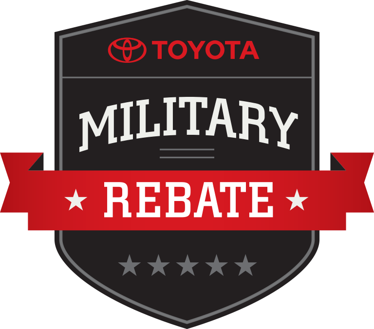 Toyota's Military Rebate
