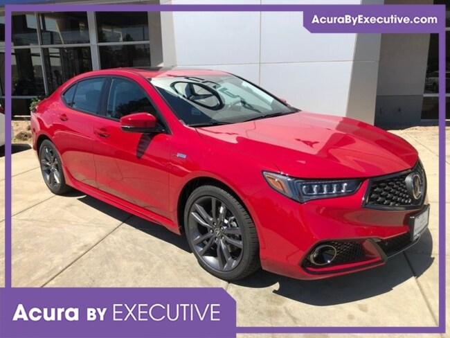 New 2019 Acura TLX 2.4 8-DCT P-AWS with A-SPEC RED Sedan in North Haven