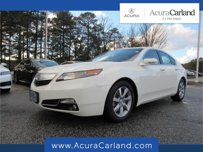 Pre-Owned 2013 Acura TL TL with Technology Package Sedan for sale in Duluth, GA