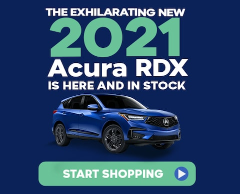 The Exhilarating New 2021 Acura RDX is here and in stock