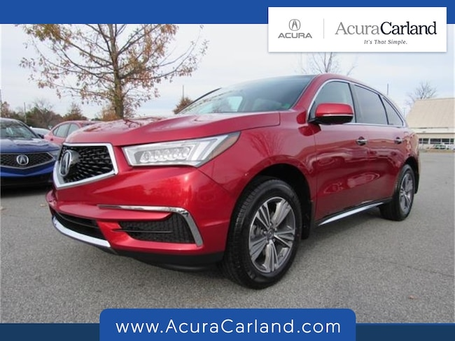 New 2019 Acura MDX SUV Duluth GA