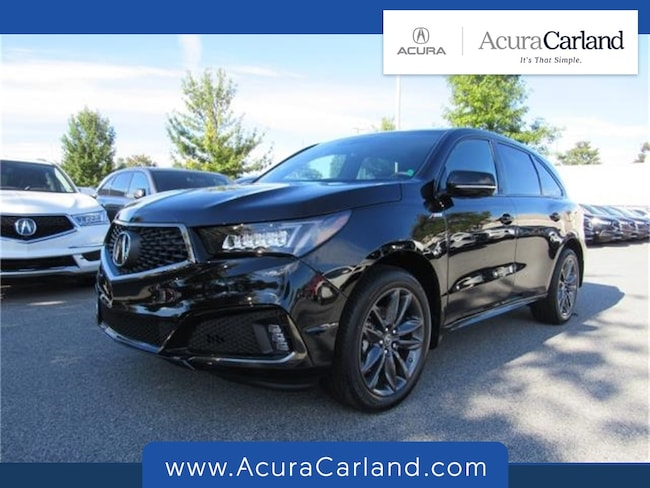 New 2019 Acura MDX SH-AWD with A-Spec Package SUV Duluth GA