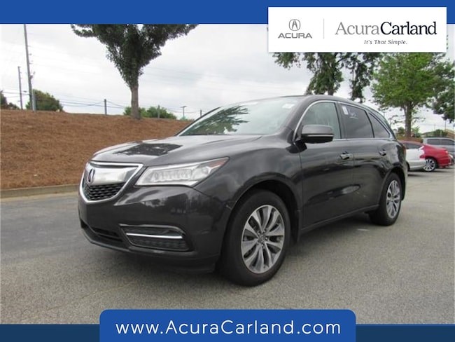 Pre-Owned 2014 Acura MDX MDX with Technology Package SUV for sale in Duluth, GA