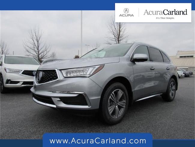 New 2019 Acura MDX Base SUV Duluth GA