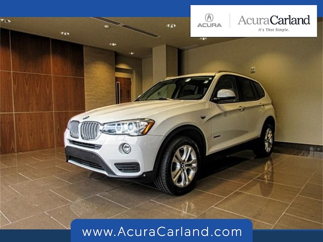 Pre-Owned 2016 BMW X3 xDrive35i SAV for sale in Duluth, GA
