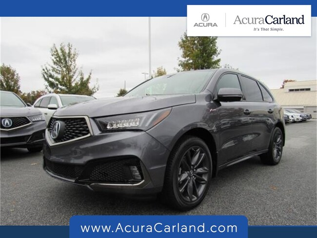 New 2019 Acura Mdx For Sale In Duluth Ga Near Atlanta Johns