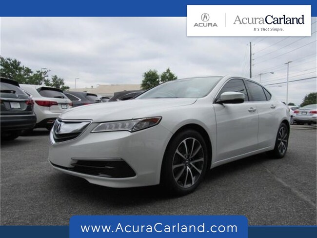 Used 2015 Acura TLX TLX 3.5 V-6 9-AT P-AWS with Technology Package Sedan in Duluth, GA
