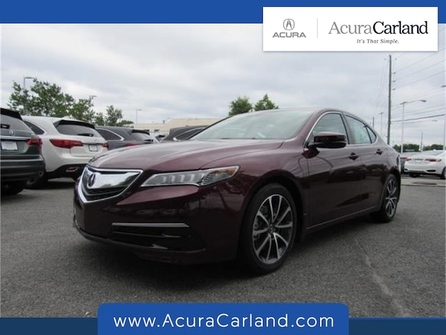 Pre-Owned 2016 Acura TLX TLX 3.5 V-6 9-AT P-AWS with Technology Package Sedan for sale in Duluth, GA