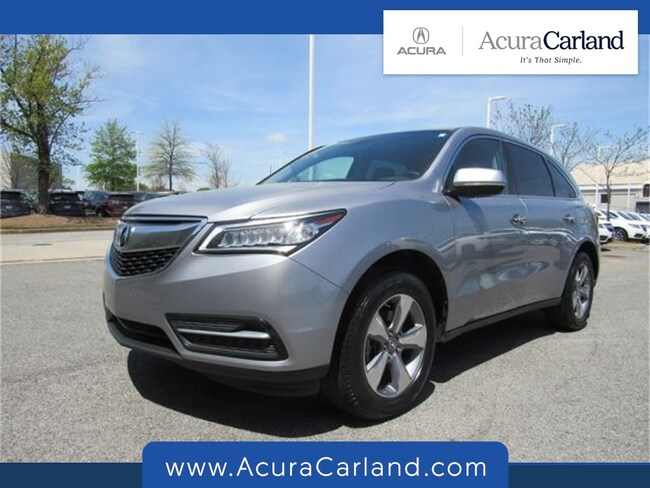 Used 2016 Acura MDX MDX SUV in Duluth, GA