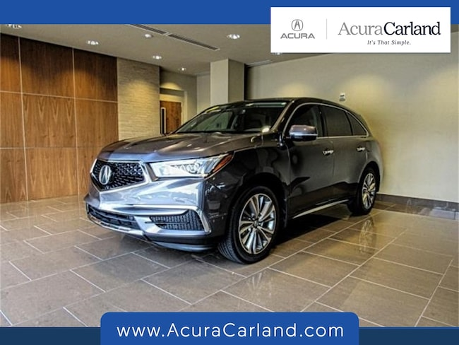 Used 2017 Acura MDX V6 with Technology Package SUV in Duluth, GA