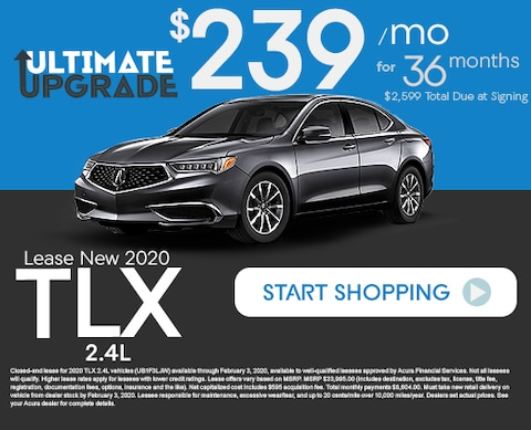 Acura Lease New 2020 TLX 2.4L